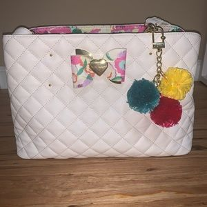 NWOT-Betsey Johnson Tote/Crossbody